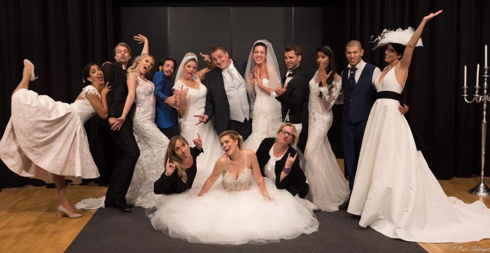Braut- und Bräutigamsmode