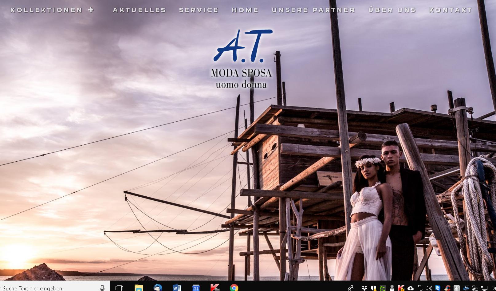 A.T. Moda Sposa - Startbild